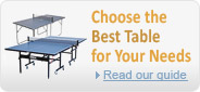 Choose the best ping pong table for your needs
